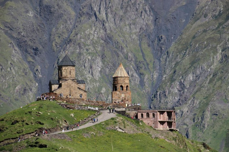 Монастырь и церковь Гергети