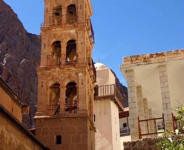 Поездка в монастырь святой Екатерины