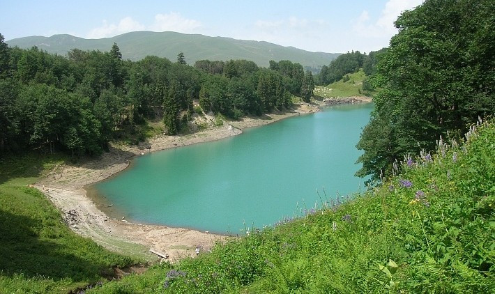 На зеленое озеро из Батуми