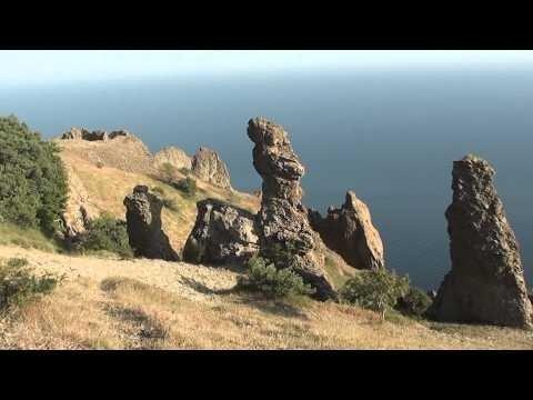 Изумительные пейзажи Карадагского природного заповедника с морского и пешего тура