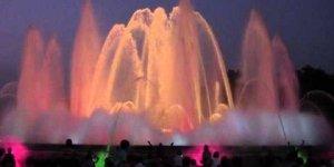 Поющий фонтан - Испания, Барселона 2012