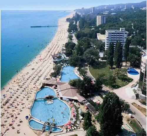 отель лилия в золотых песках: