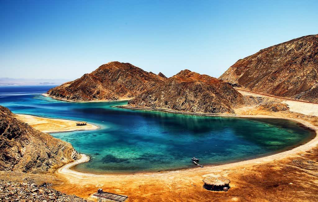 Fjord Bay в Табе (Египет)