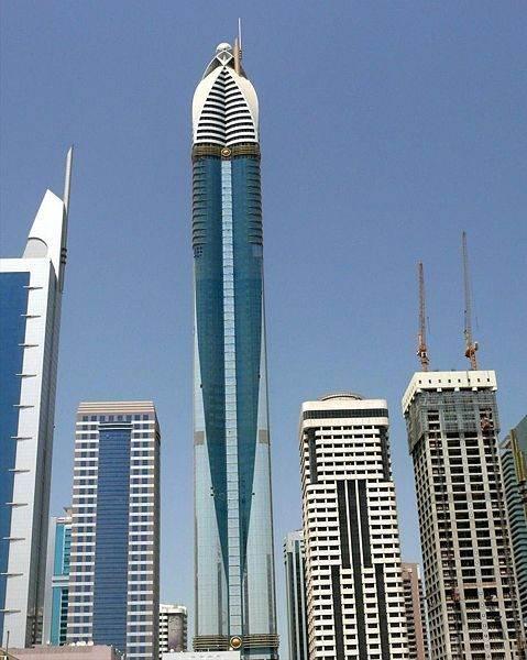 Самый высокий отель в мире Rose Tower