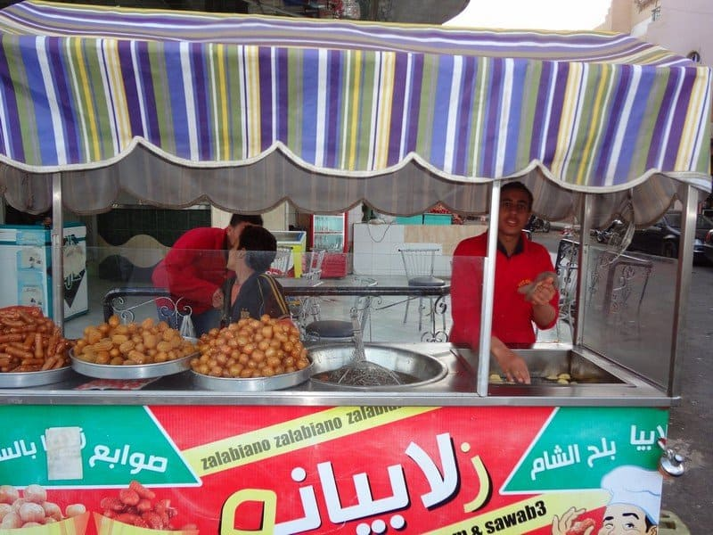 Египетский фаст фуд
