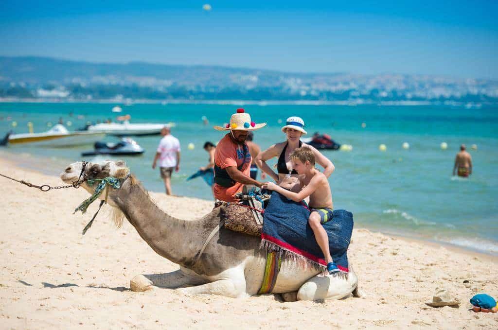 Пляж Хаммамета (Тунис)
