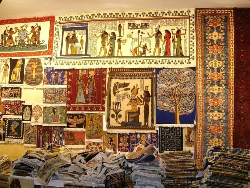 Изделия из папируса
