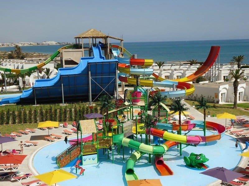 Аквапарки Туниса