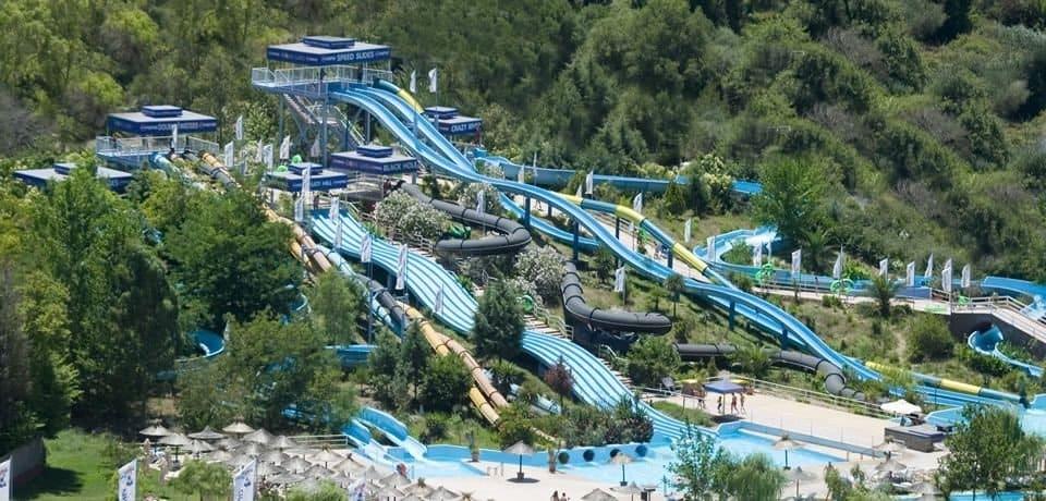 Aqualand на Корфу