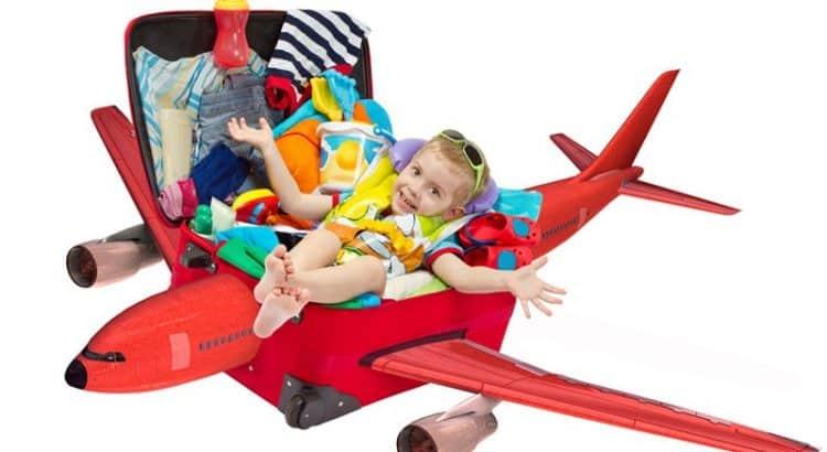 Собираем чемодан детям