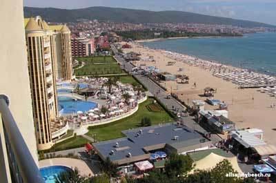 Пляжи Болгарии: фото пляжа Солнечный Берег