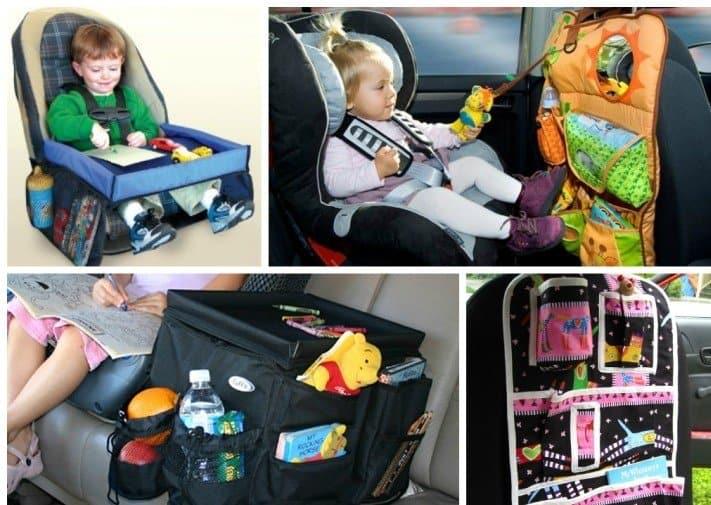 Удобные приспособления для занятий детей в дороге