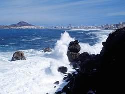 Прибой на острове Гран Канария
