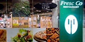 Недорогой ресторан Fresc Co в Барселоне