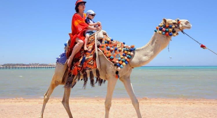 С детьми в Египет