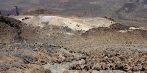Вид на маршрут Pico Vejo с вершины
