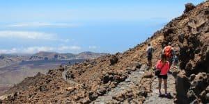 Маршрут к вершине Pico Vejo