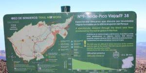 Карта пешего маршрута к Pico Vejo