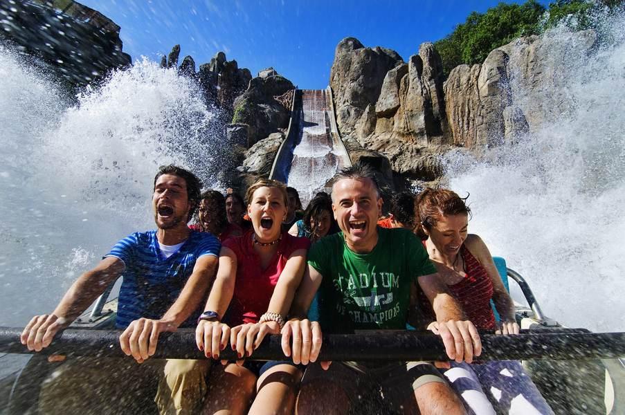 Водные атракционы в Порт Авентура