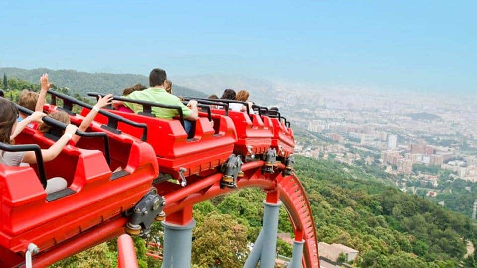 Тибидабо - парк развлечений в Барселоне