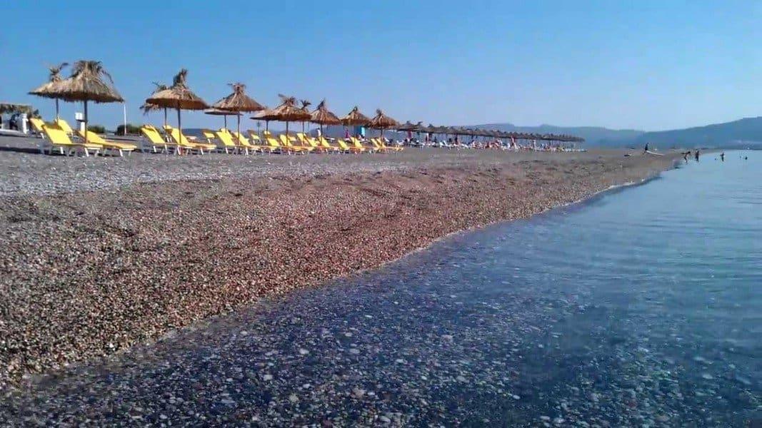 Пляж Kalathos Beach