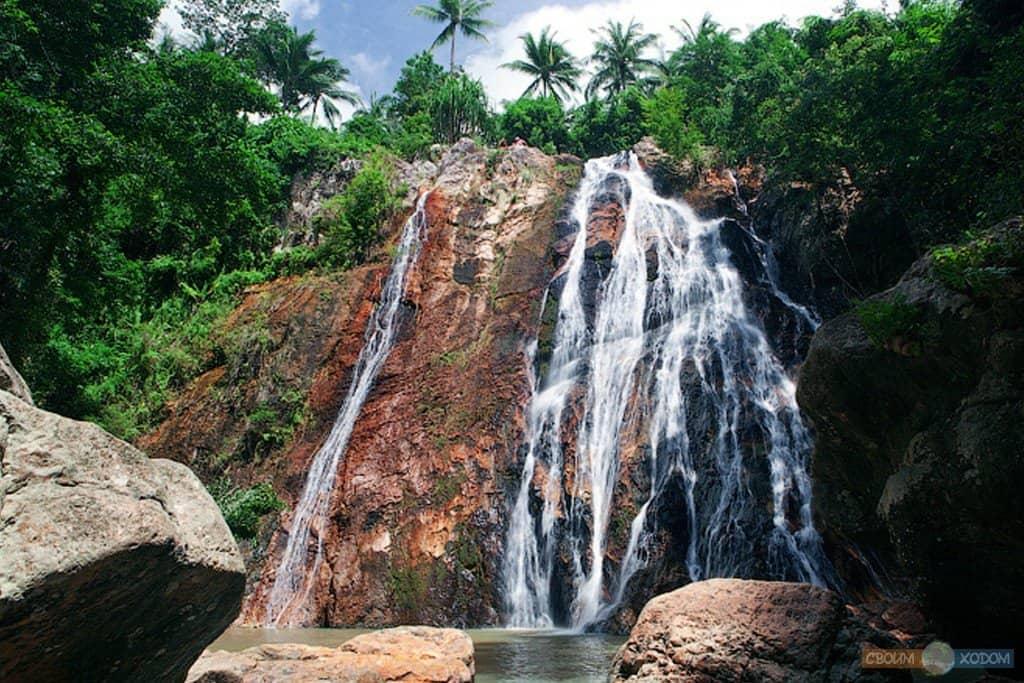 Двойной водопад Намуанг на Самуи