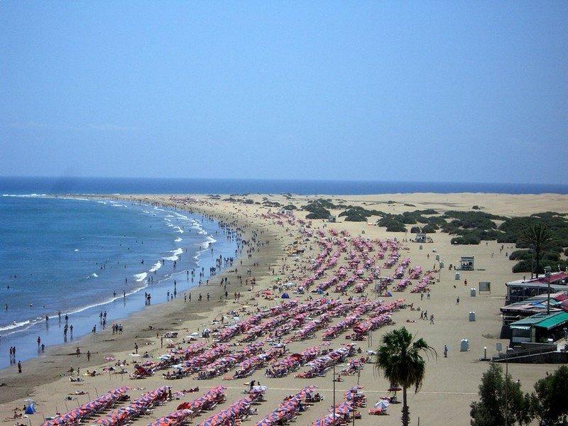 Пляж Плайя-дель-Инглес