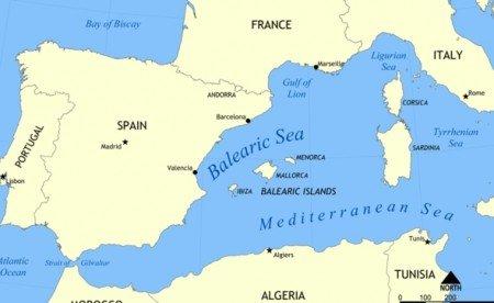Моря Испании