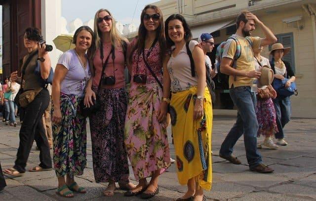 Одежда туристов