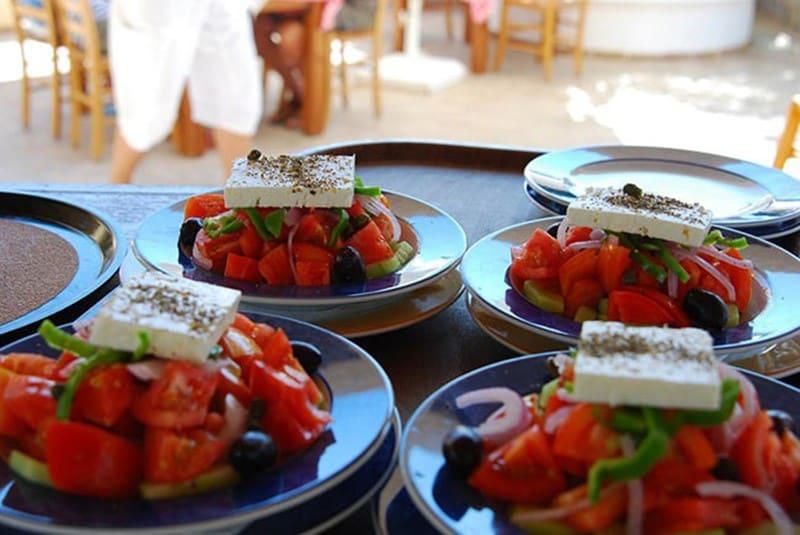 Типы питания в Греции