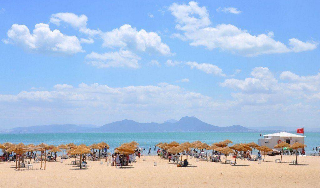 Пляж в Хаммамет