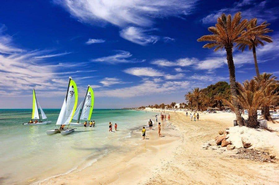 Пляж Джербы