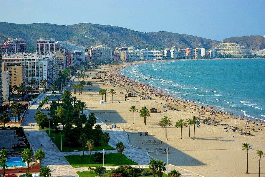 Пляж в Кульера