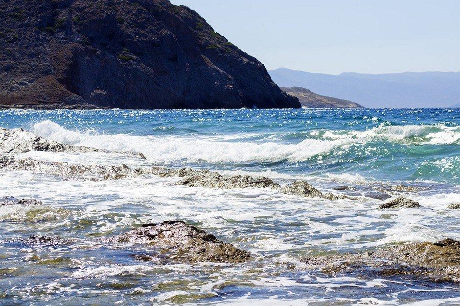 Море у берегов Греции