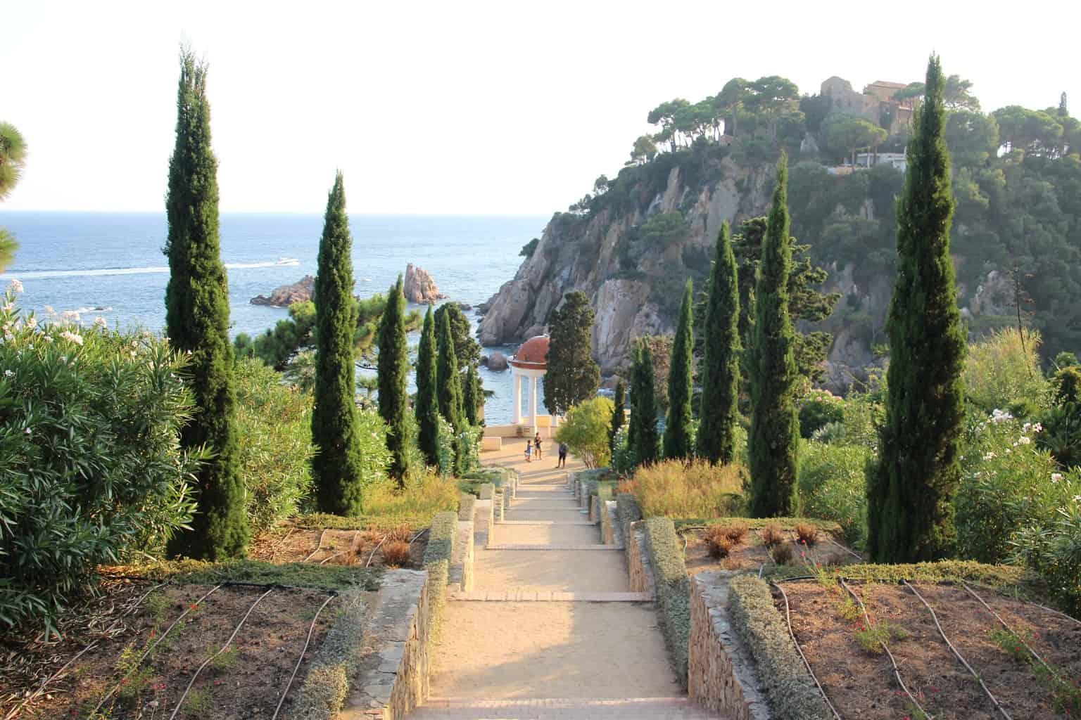 Красивые пейзажи ботанического сада