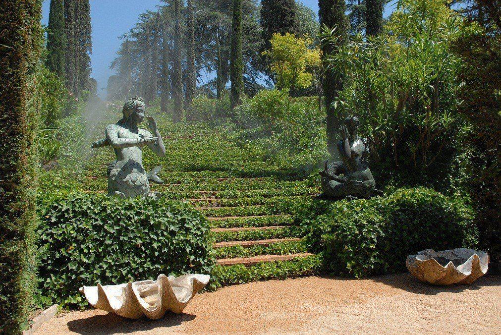 Зеленная территория садов