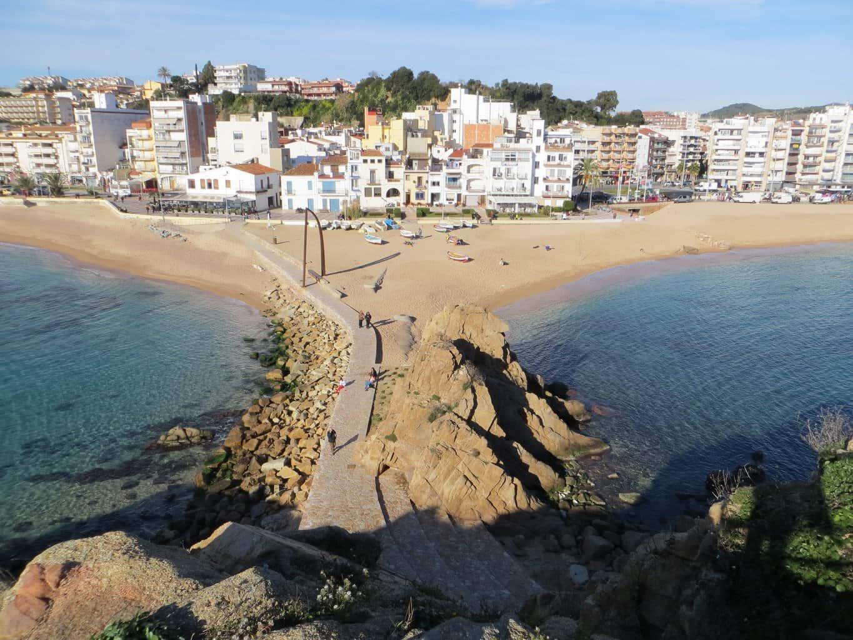 Вид на город со скалы