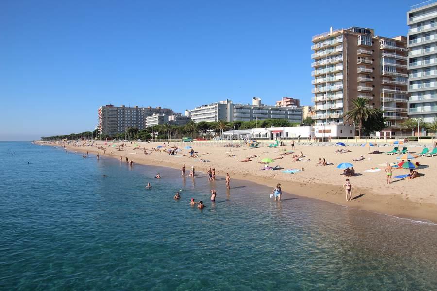 Пляж в Малграт де Мар