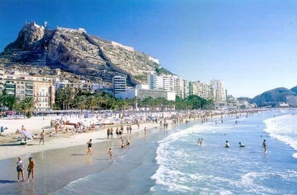 аликанте сентябрь пляжи
