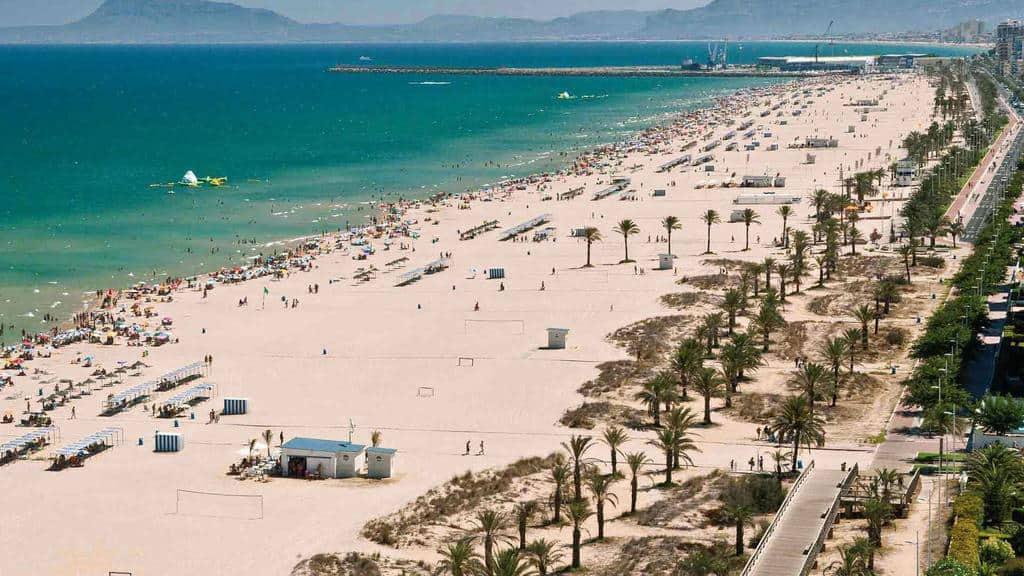 Главный пляж Гандии