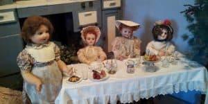Чаепитие кукол