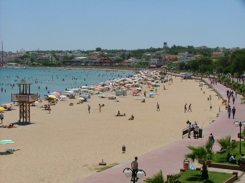 Пляжи Дидима