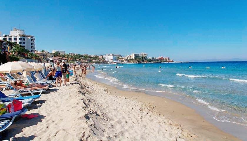 Пляжи Кушадас