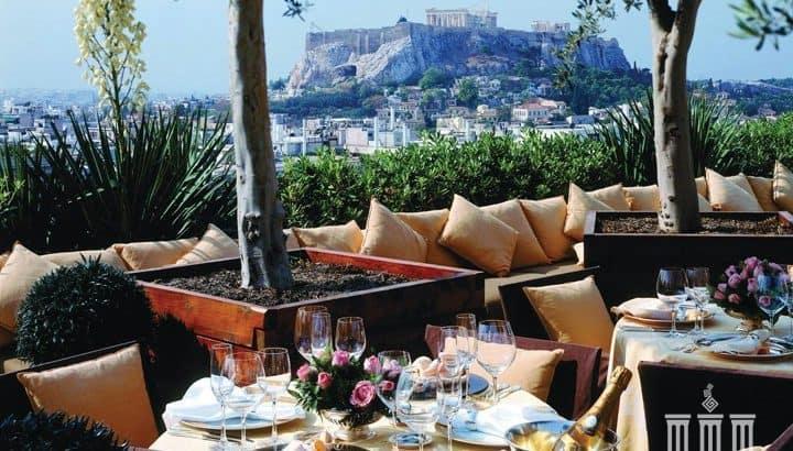 Питание в ресторанах Греции