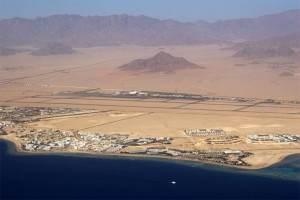 Аэропорт Шарм Эль Шейх с высоты птичьего полета