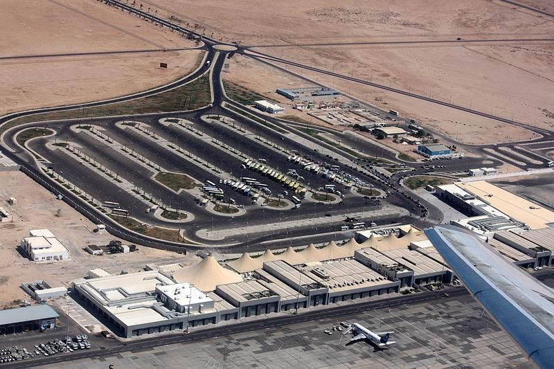 Аэропорт Хургады сверху