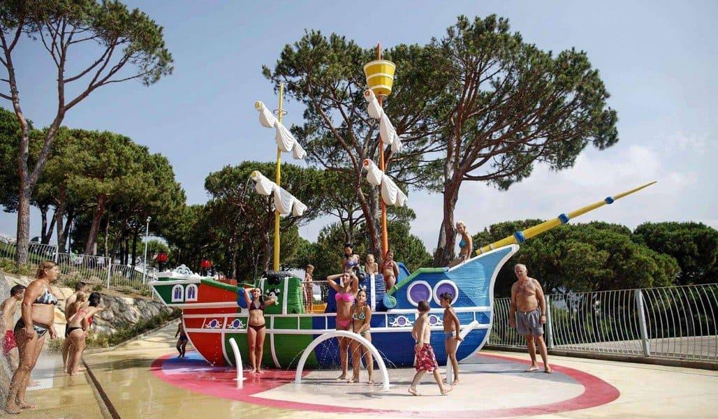 Аквапарк в Ллорет де Мар