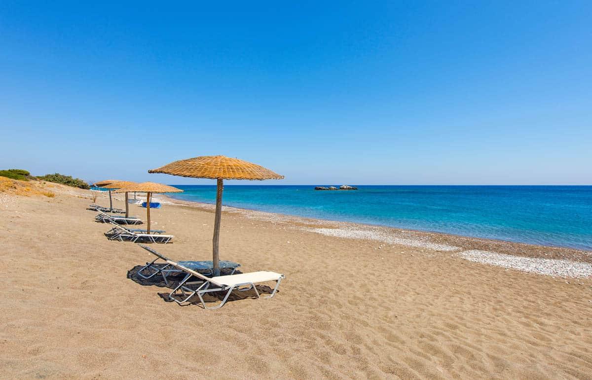 Пляж в Киотари, Греция