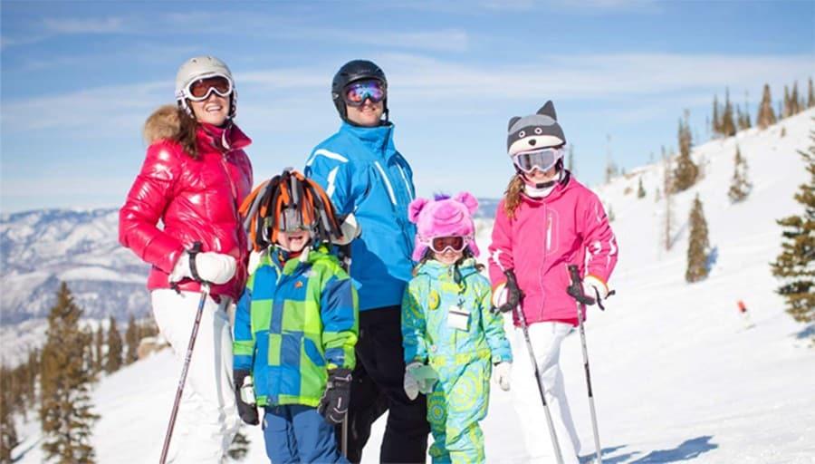 В отпуск с детьми зимой