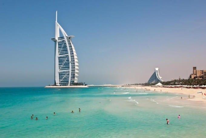 Побережье Дубаи